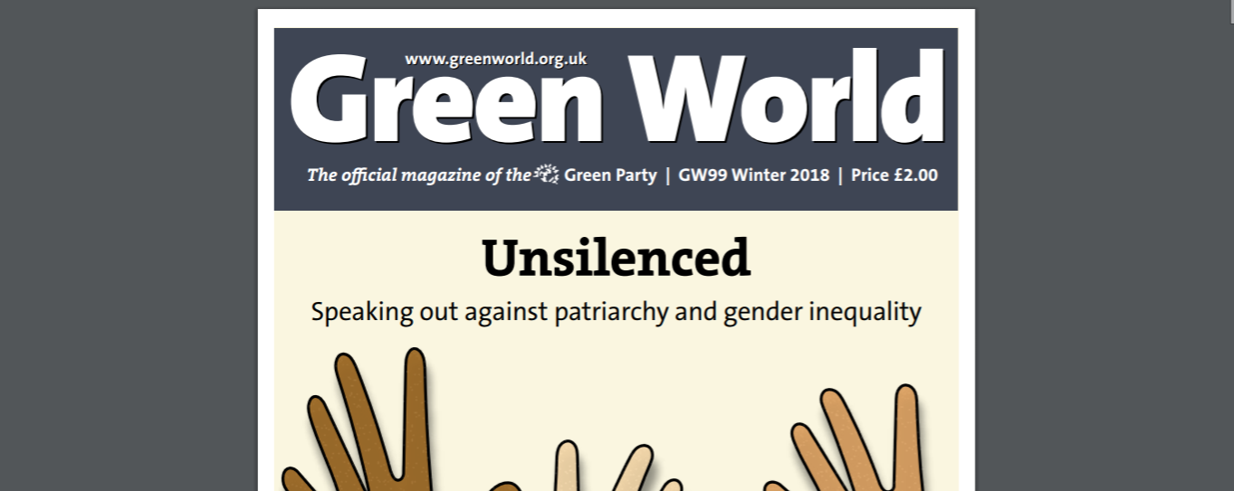 Green World Patriarchy issue